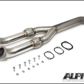 Alpha Performance GT-R Resonated Midpipe