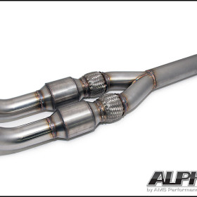 Alpha Performance GT-R Catted Midpipe