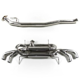 Tubi Style - Nissan GTR Stainless Exhaust System