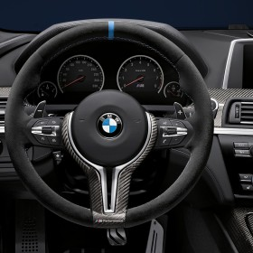 BMW - M Performance Alcantara Steering Wheel - BMW F10 M5 & F12-F13 M6